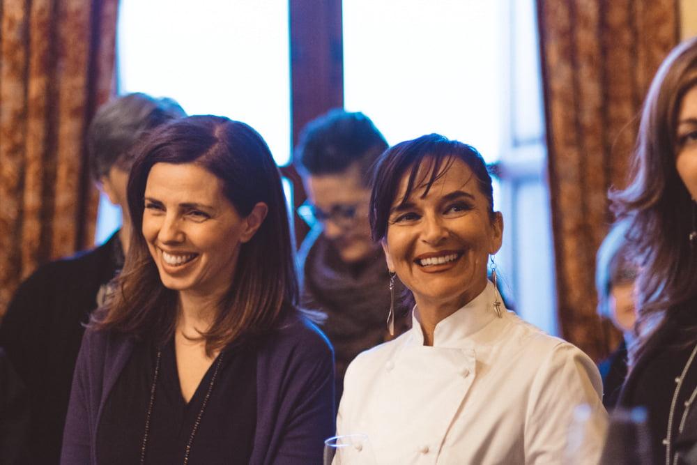 Paola Mucci e Marzia Buzzanca in una foto di Mauro Cantoro