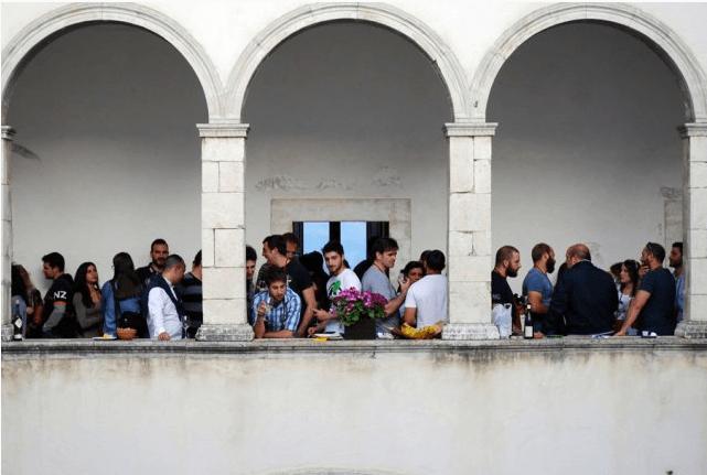 Palazzo Santucci, Navelli durante Naturale, fiera del vino artigianale